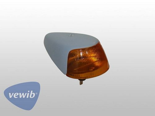 Breiter Blinker komplett 64-74, orange, Grundiert, VEWIB